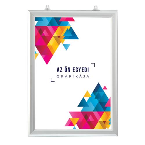 Kétoldalas plakátkeret - álló - A1