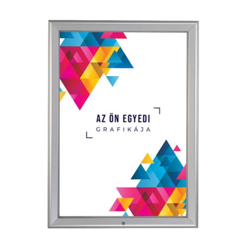 Zárható ablakra rögzíthető plakátkeret - A1