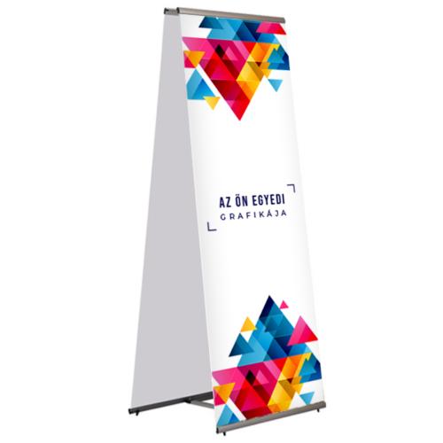 Kétoldalas L-banner - 80x200