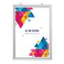 Kép 1/4 - Kétoldalas plakátkeret - álló - A1