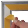 Kép 4/5 - Zárható ablakra rögzíthető plakátkeret - A1