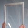 Kép 5/5 - Zárható ablakra rögzíthető plakátkeret - A1