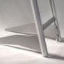 Kép 7/7 - Prospektustartó állvány - 2xA4 - ezüst színben