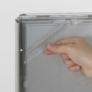Kép 5/10 - Állítható várakoztató tábla kerekített sarokkal - A4